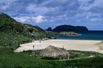 [BRITAIN.HEBRIDES 27698] ?Bosta Iron Age village.?  At the beach of Bosta on Great Bernera (an island off the north coast of Lewis) a period of heavy storms in 1990s uncovered the st ...
