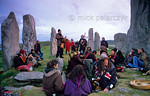 [BRITAIN.HEBRIDES 27676] ?The Stonehenge of Scotland.?  On the Isle of Lewis the neolithic stone circle at Callanish has been called